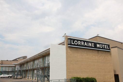 Motellet i Memphis där Martn Luther King blev skjuten