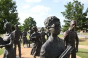 Monument över Little Rock Nine