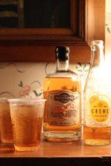 Innehållet i dessa flaskor som inhandlats tidigare under resan blev en drink som vi avslutade kvällen med