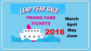 Superferry promo for March April May June 2016