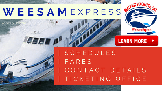 weesam express fares schedules maasin tubigon bacolod iloilo etc