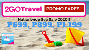 promo 2go sale 2020 tickets