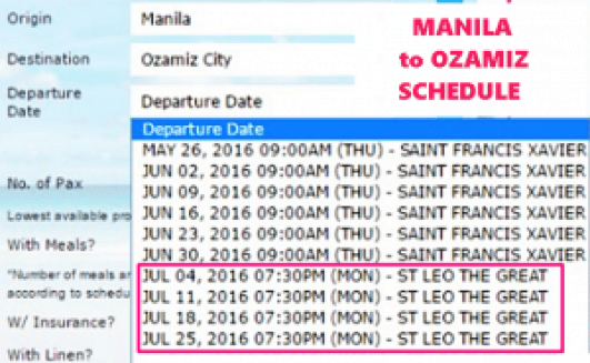 Manila_to_Ozamiz_July_2016_Schedule
