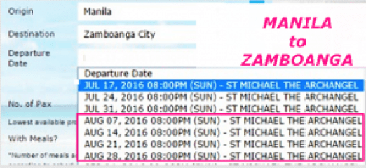 MANILA_to_ZAMBOANGA_August_2016_Schedule