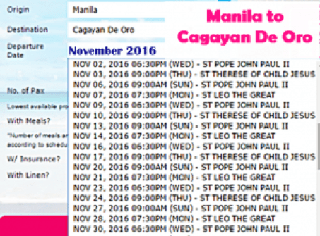 manila-to-cagayan-de-oro-november-2016-ship-schedule