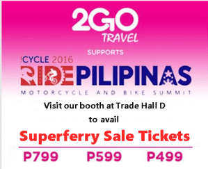 Buy 2Go Travel Sale Tickets 2017 by Cash Payment