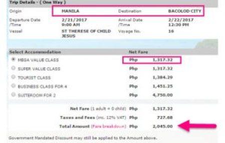 Manila-to-Bacolod-Ticket-Price-February-2017