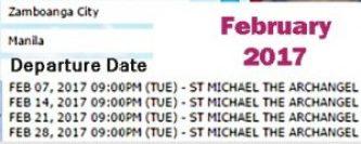 Zamboanga-to-Manila-2Go-Travel-Ship-Schedule-February-2017