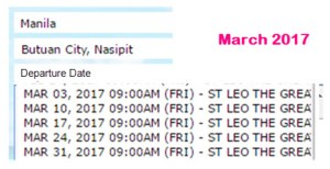 Manila-to-Butuan-March-2017-2Go-Ship-Schedule