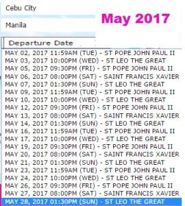 May-2017-Cebu-to-Manila-2Go-Travel-Ship-Schedule