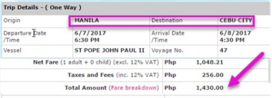 2Go-Travel-Ticket-Price-Manila-to-Cebu-June-2017
