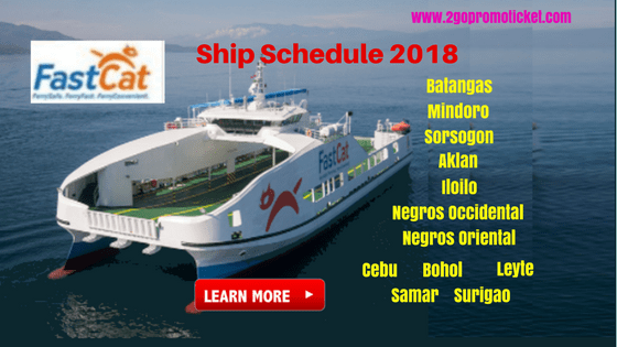 FastCat-Ferries-Boat-Schedule-2018