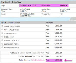 zamboanga-to-manila-2go-travel-ship-ticket-price-june-20