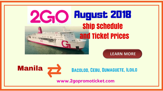 2Go-Travel-August-2018-boat-trip-Schedule-and-ticket-prices