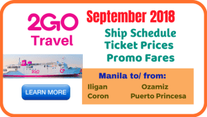 2go-promo-tickets-september-2018-coron-puerto-princesa-iligan-ozamiz