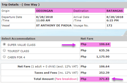 2go-sale-ticket-odiongan-to-batangas