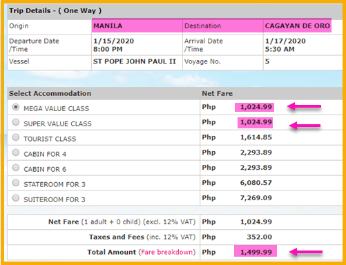 2go-promo-fare-ticket-manila-to-cagayan-de-oro
