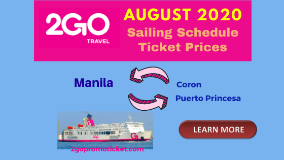 2go-travel-fares-and-ship-schedule-palawan-august-2020