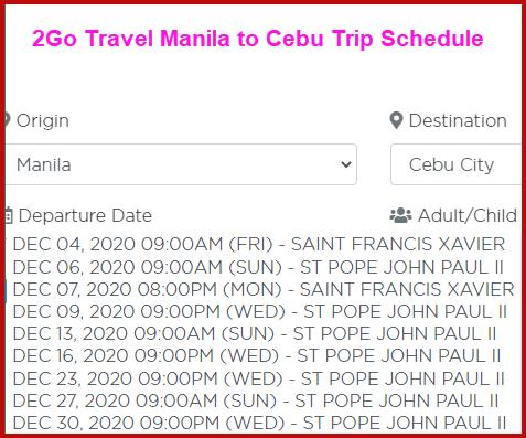 2go-voyage-schedule-manila-to-cebu