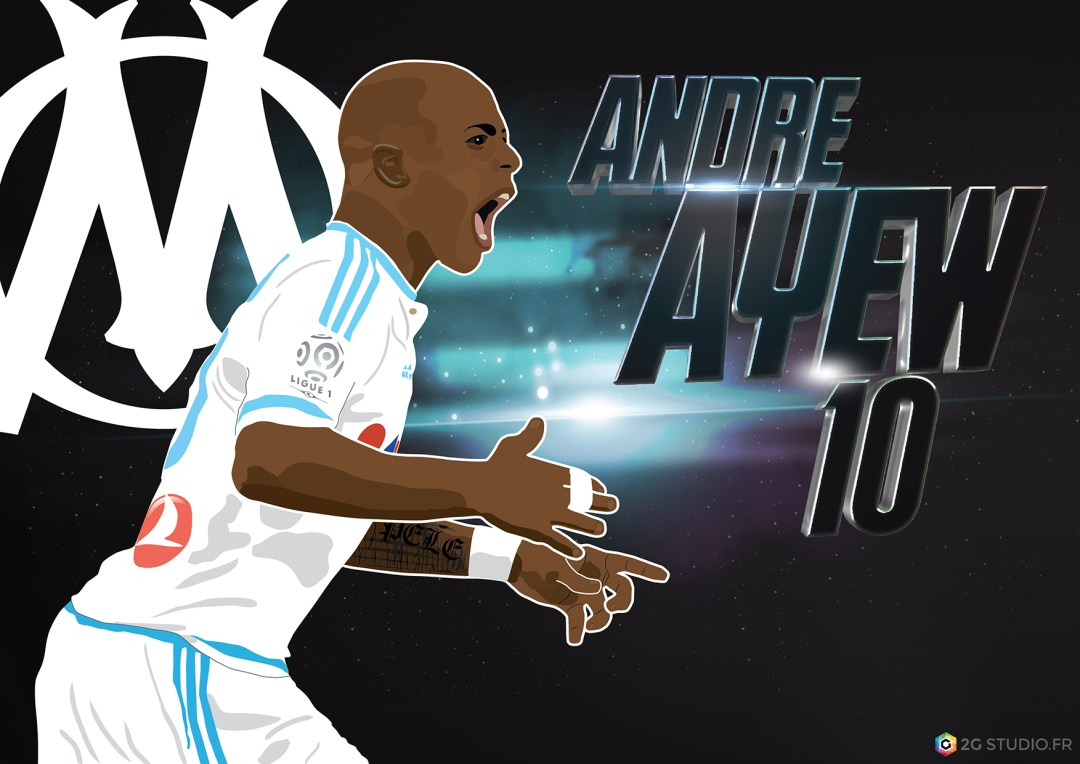 Andre Ayew by 2G Studio