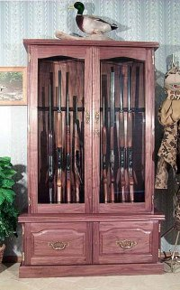 Wood Work How To Make A Gun Cabinet Out Of Wood PDF Plans