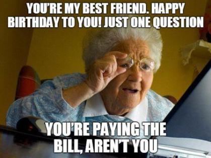 Image result for 10 best friend birthday meme