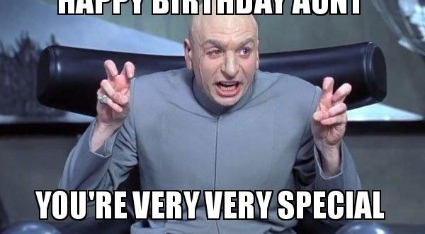 Humorous Birthday Memes for Aunt - 2HappyBirthday