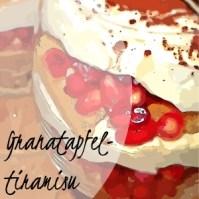 Granatapfel-Tiramisu