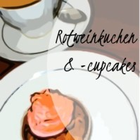 Rotweinkuchen/ -cupcakes