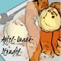 Apfel-Quark-Strudel mit Blätterteig
