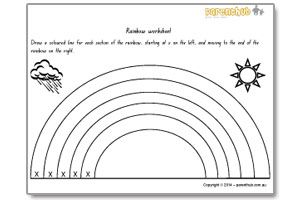 Kids activities- pre-writing worksheets