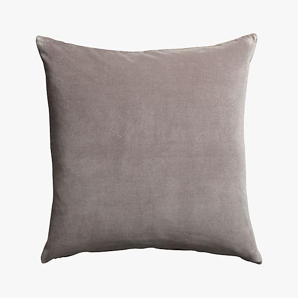 leisure grey 23 pillow  CB2
