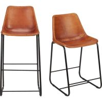 Leather Bar Chairs | www.imgkid.com - The Image Kid Has It!