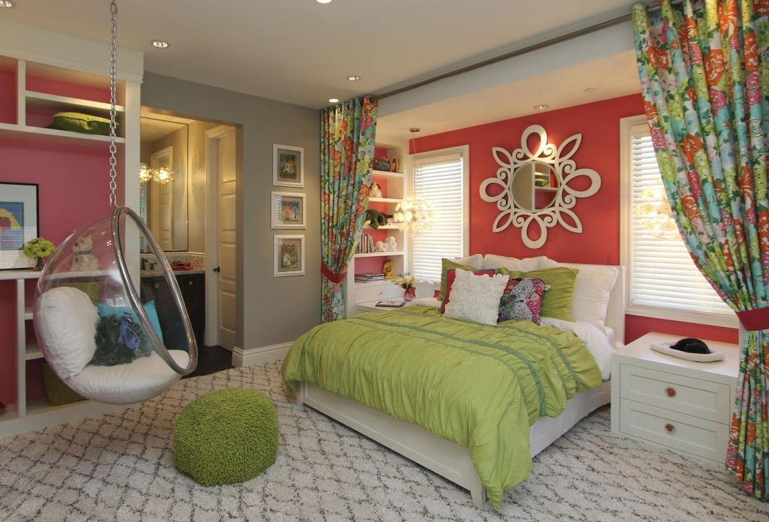 Hamptons Inspired Luxury Kids Girls Bedroom Before And