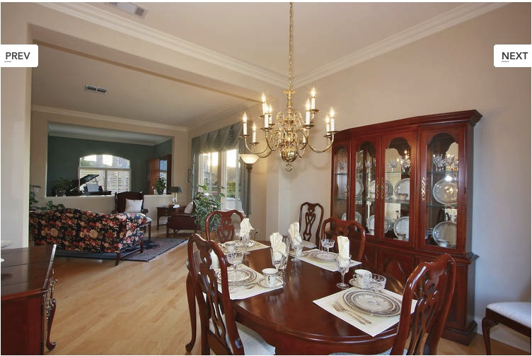 Modern Traditional Dining Room Before And After