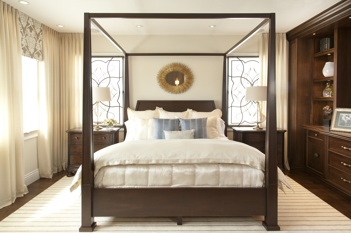 Bedroom Designs Vibrant Transitional Master Bedroom Before And After | San