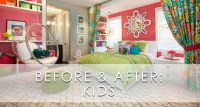 Hamptons Inspired Luxury Kids Girls Bedroom Before and ...