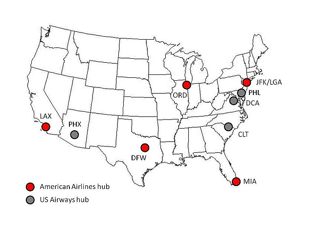 US Airways and American Airlines Announce Merger