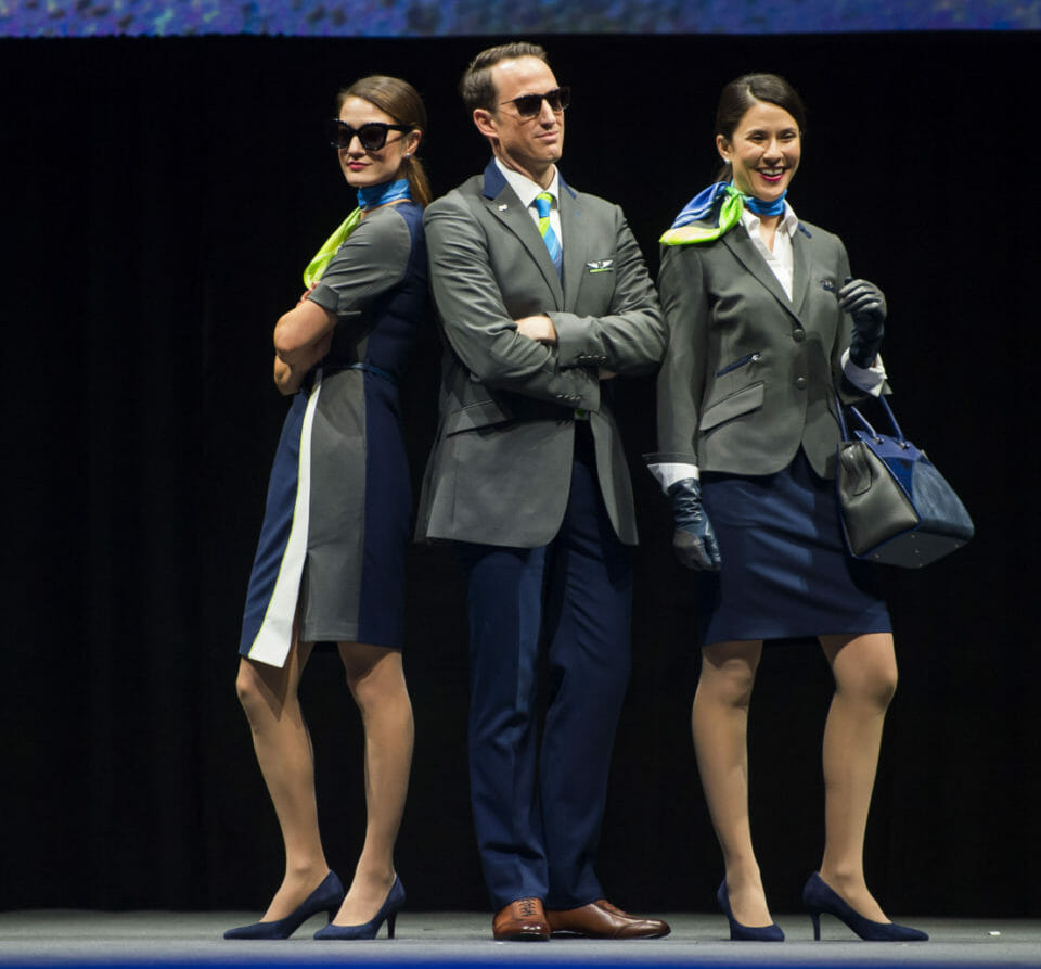 Alaska Reveals New Uniforms by Luly Yang