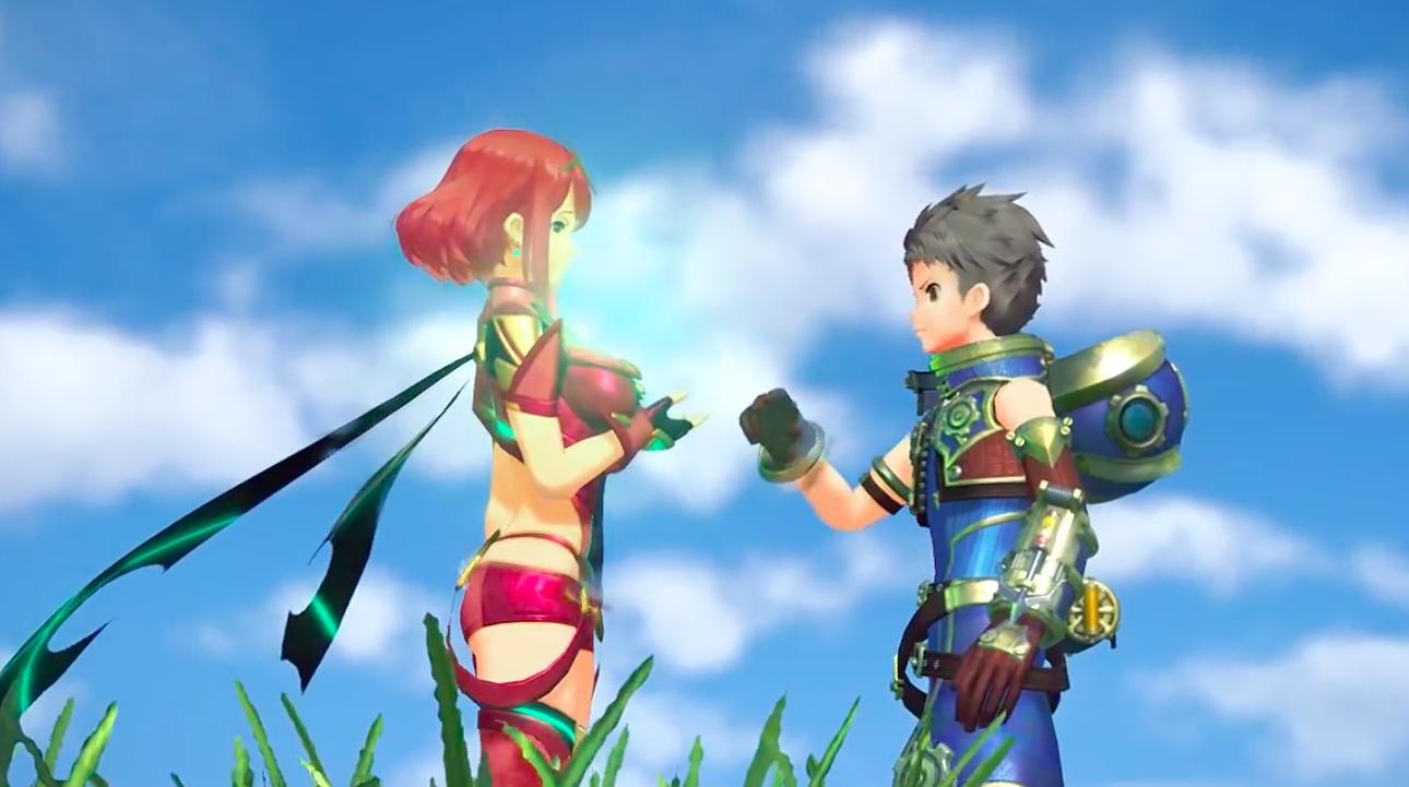 Xenoblade Chronicles 2 Gameplay Trailer Zeigt Charaktere Kampfsystem Blades Amp Open World