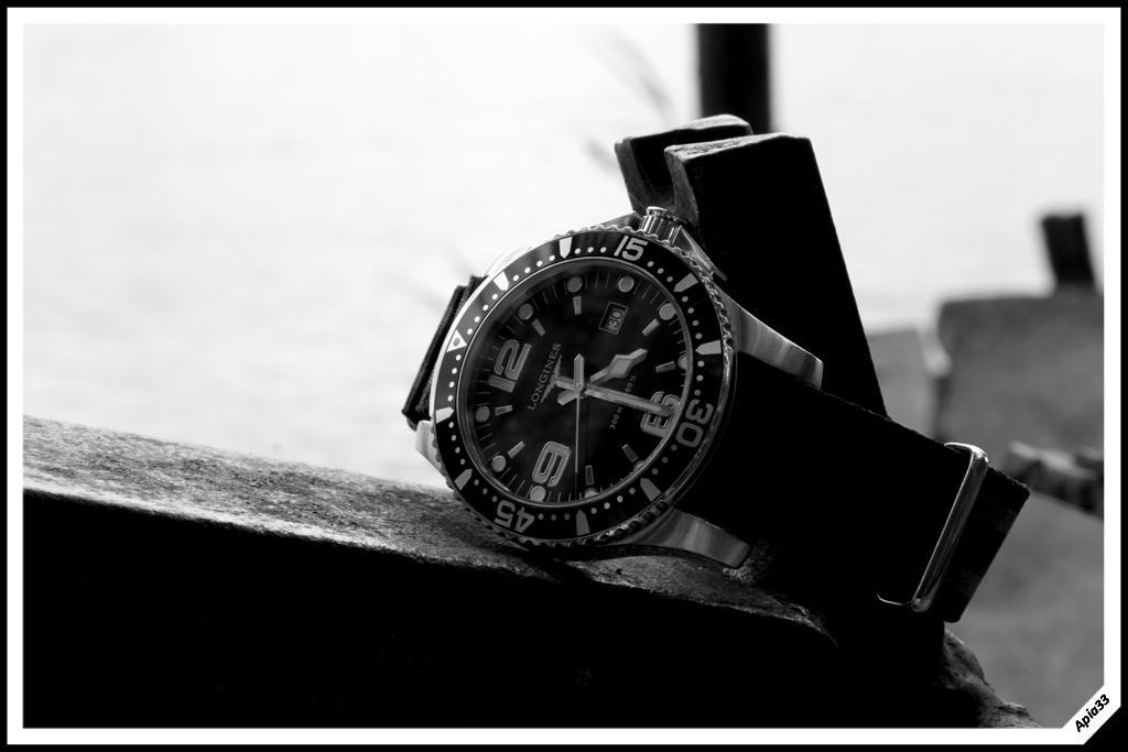 Longines Hydroconquest 39mm Noire