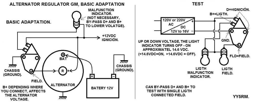 Regulador del Alternador Delco-Remy CS-130