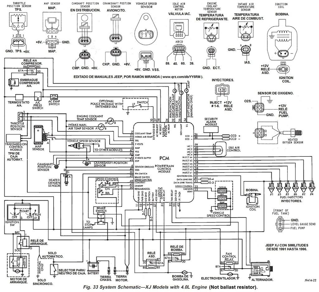 smart diagrama de cableado de la computadora