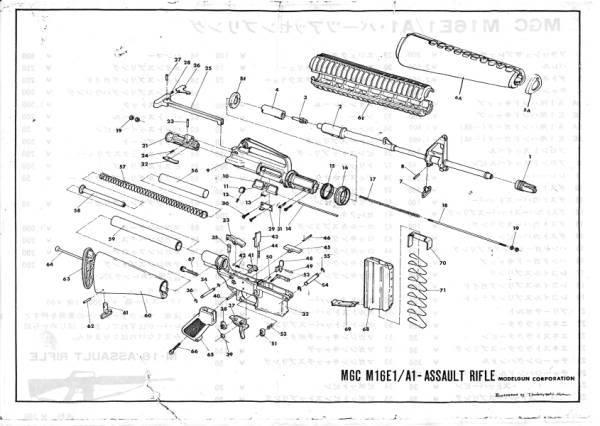 MGC M16A1 Manual