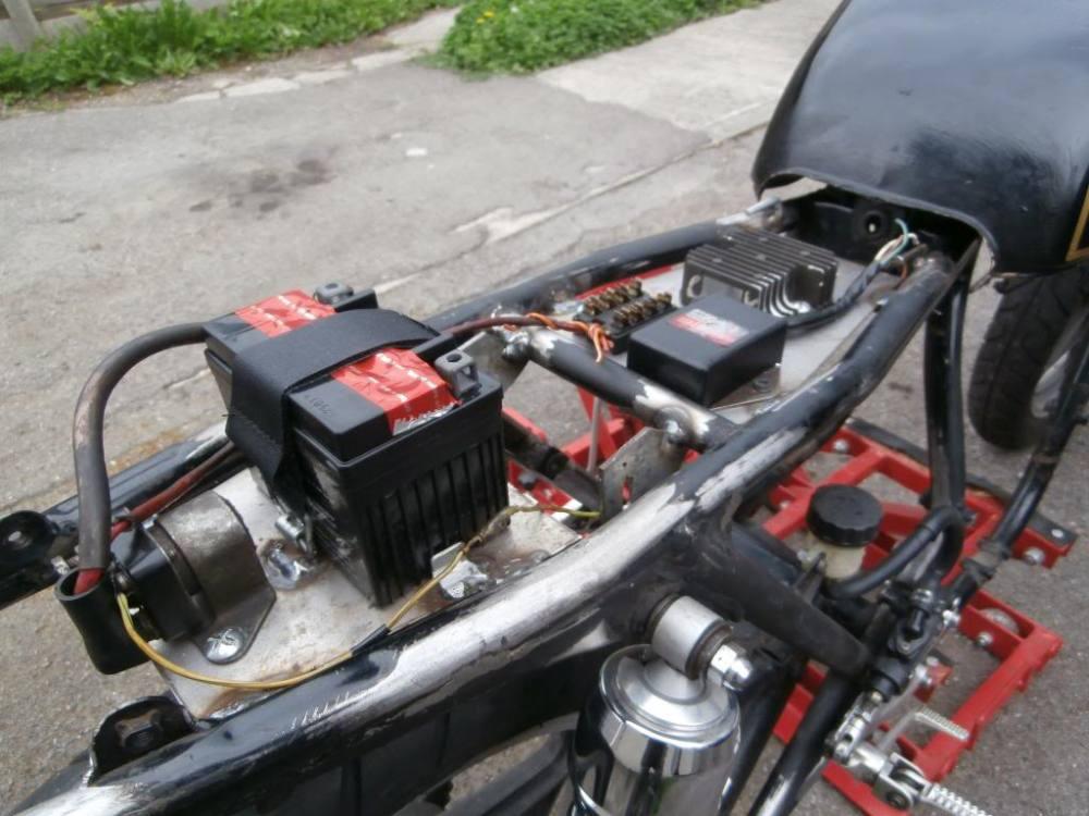 medium resolution of cafe racer hidden wiring car diagrams explained