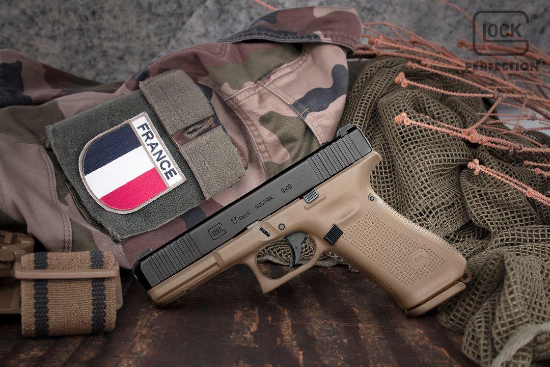 PSA Glock 17 Gen 5 FR dans son élément (source image Starik forum Glock).