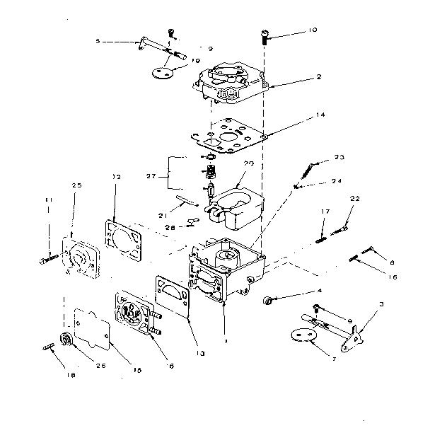 ONAN 20hp horizontal shaft opposed piston engine diagrams