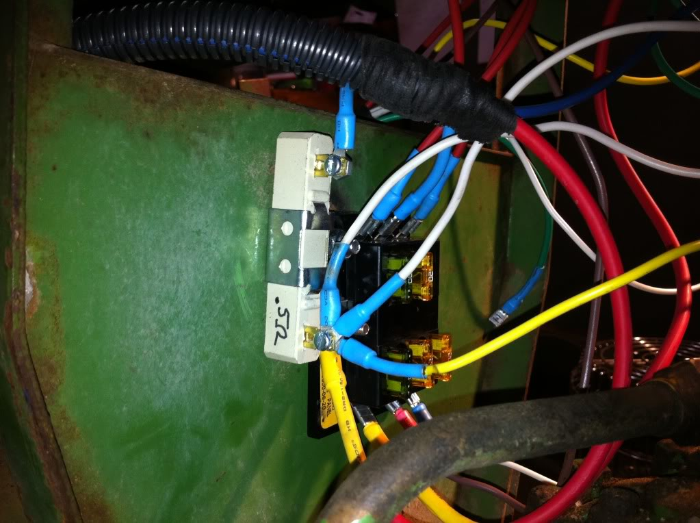 john deere 3020 light switch wiring diagram whirlpool washer motor install 4020 starter www toyskids co how to wire an alternator on a tractor it still runs