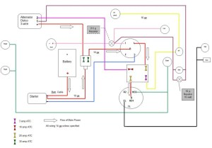 Draft for Review  1010 RUS wiring diagram wDelco 3wire alternator conversion