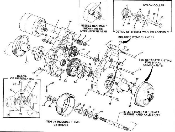 Ezgo Golf Cart Rear Axle Diagram. yamaha g9 ak golf car